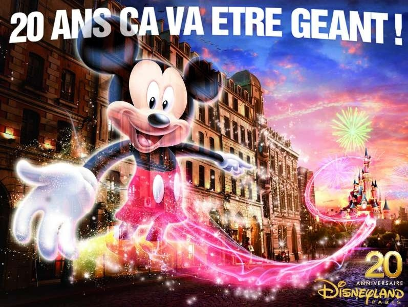 20 ans disneyland paris