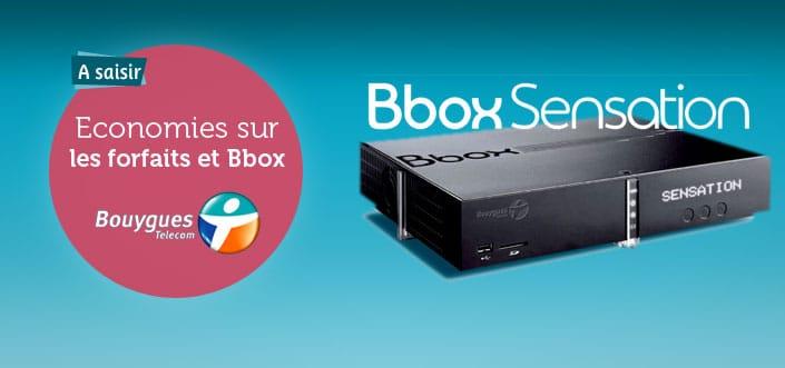 Les forfaits Bbox de Bouygues Telecom