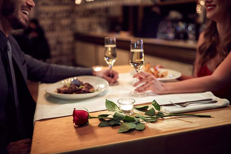 Les restaurants pour la Saint Valentin
