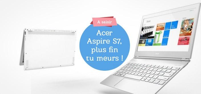 Acer Aspire, le plus fin