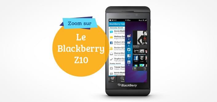Nouveau Blackberry Z10