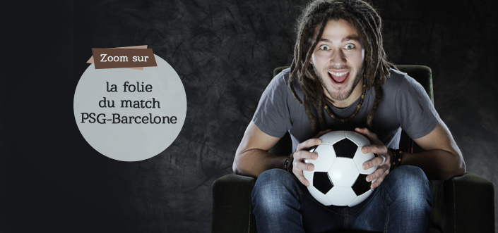 Match foot PSG-Barcelone