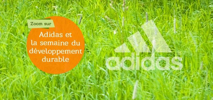 Adidas et le développement durable
