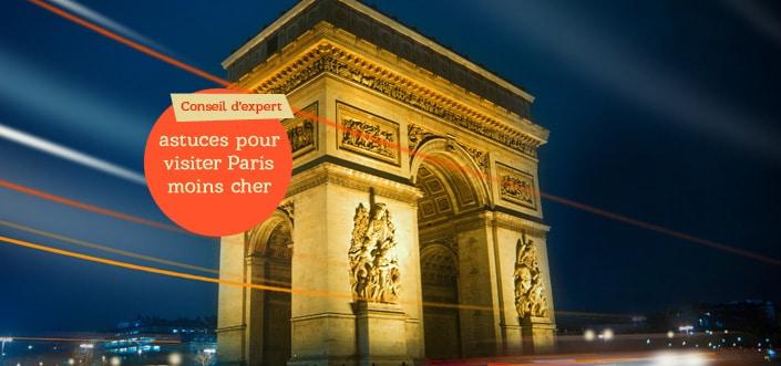 visiter Paris pas cher