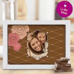 Chocolat personnalisé fête des mères