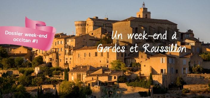 Gordes et Roussillon