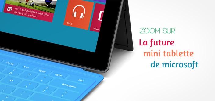 mini tablette de microsoft