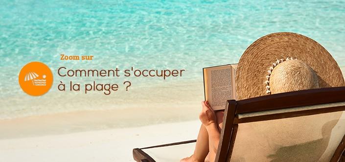 plage occupation