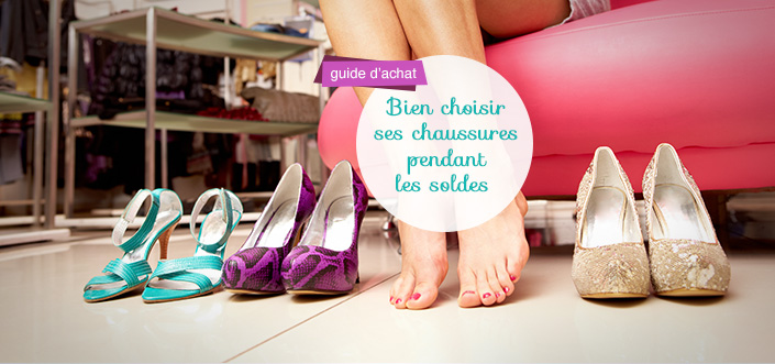 choisir ses chaussures soldes
