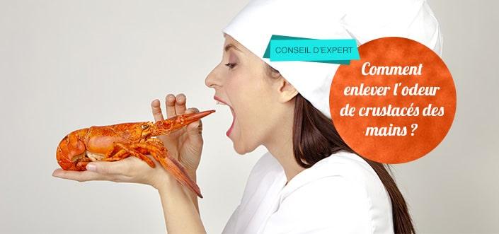 odeur de crustacés