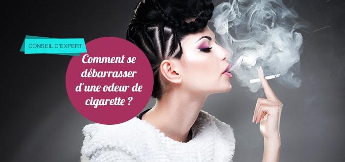 odeur de cigarettes