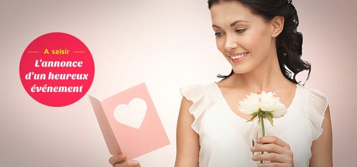Faire-part, carte de vœux, carton d'invitation... 1