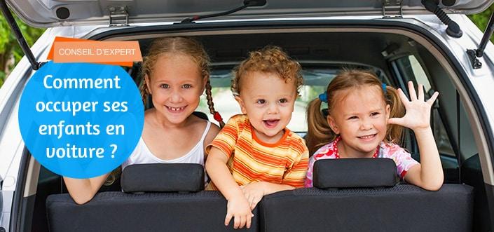 occuper ses enfants en voiture