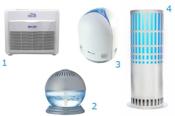 modèles de purificateurs d'air