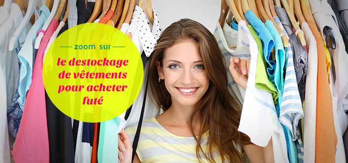 Destockage de vêtements en ligne