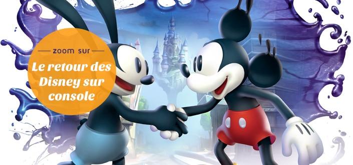 Le retour de Disney sur console