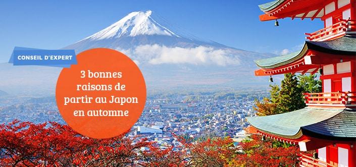 Partir au Japon en automne