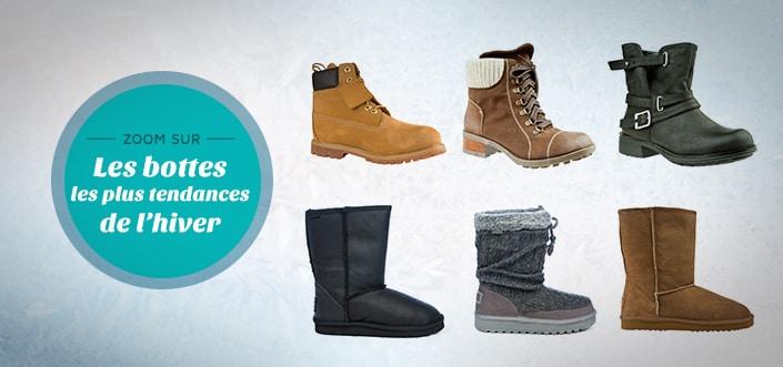 Les bottes tendances de l'hiver