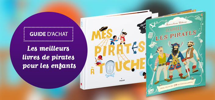 Livres pour enfants Pirates