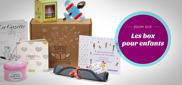 Box enfants pour Noël