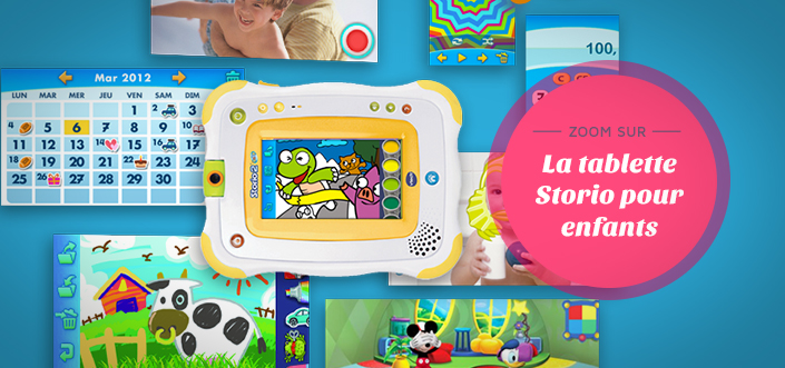 Tablette storio pour enfants