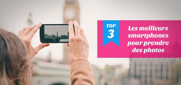 smartphones pour prendre des photos