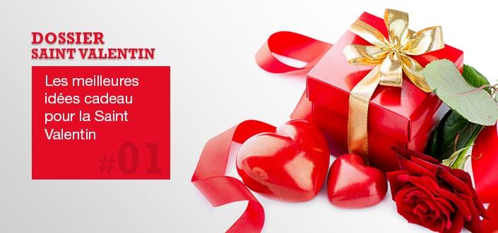 Idées cadeaux Saint Valentin