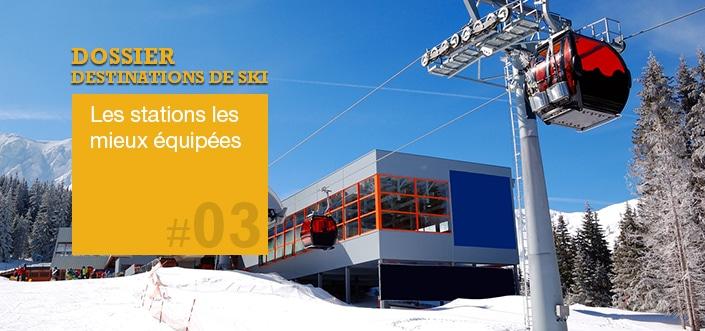 Stations de ski équipées