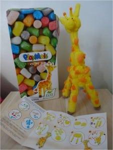 girafe playmais