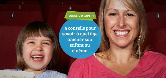 Age pour emmener un enfant au cinéma