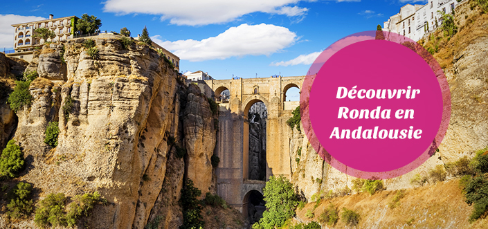 Pont neuf de ronda andalousie