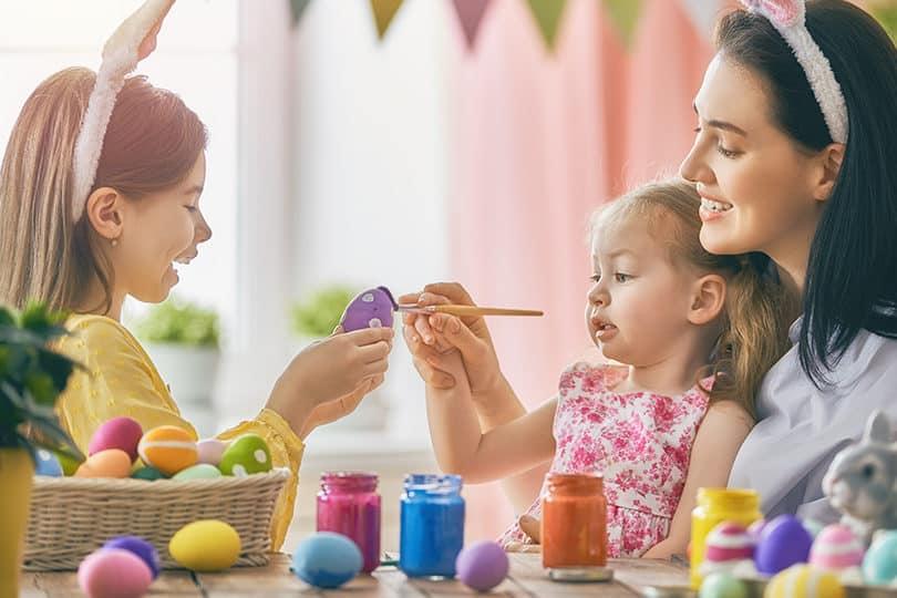 DIY de Pâques décorer oeufs