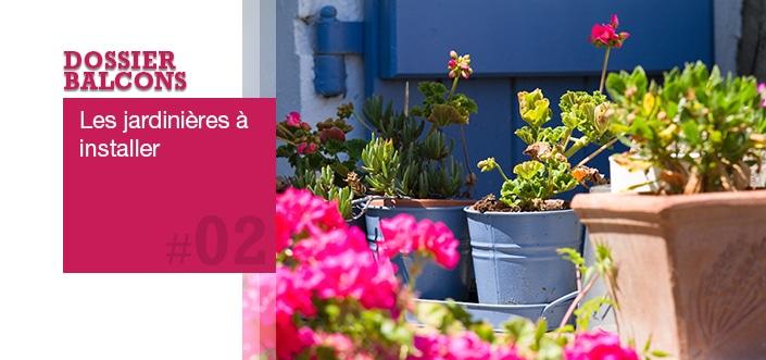 petit balcon les pots et jardini res choisir. Black Bedroom Furniture Sets. Home Design Ideas