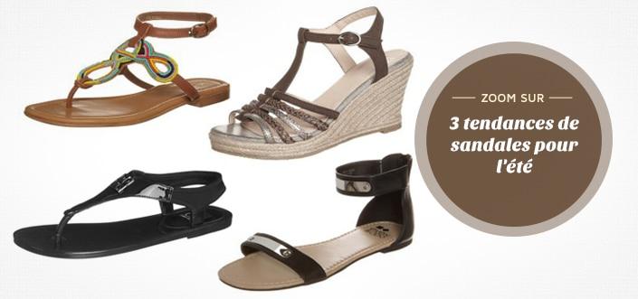 selection sandales été 2014