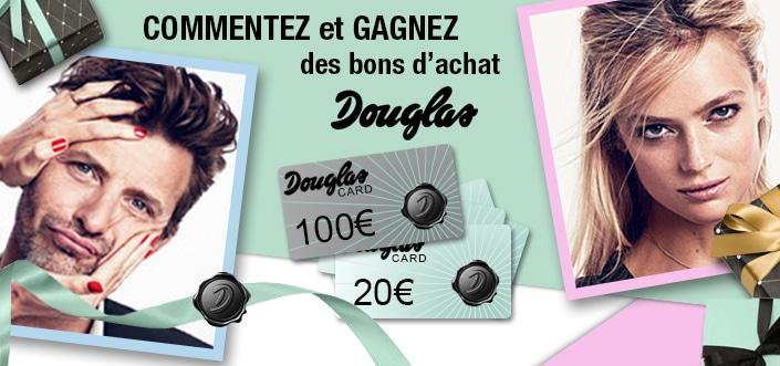 300€ à gagner sur le site Douglas avec iGraal