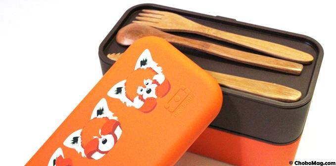 bento panda roux pour emmener à manger le midi
