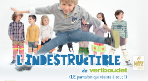 Vertbaudet-pantalon indestructible