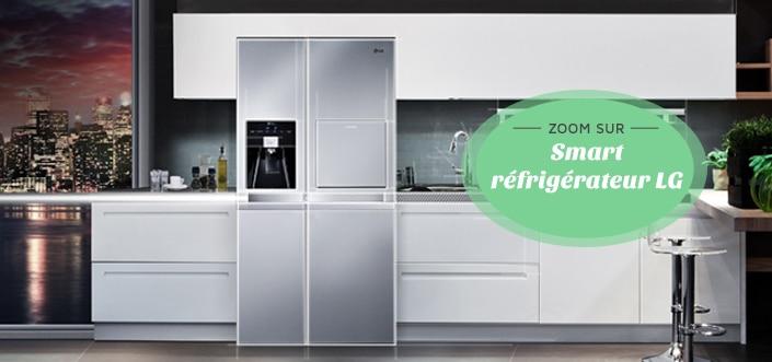 Smart frigo LG