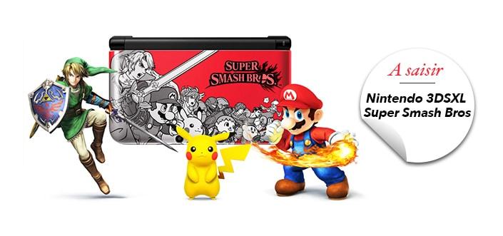 Nintendo 3DS XL smashbros