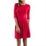 robe octobre rouge