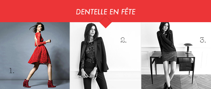 Dentelle Ba&Sh pour La Redoute
