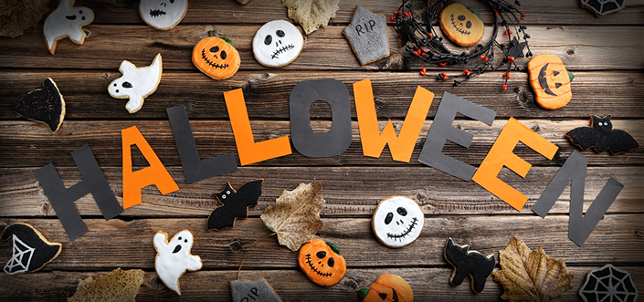 Trouver sa d co d 39 halloween petit prix for Deco maison halloween