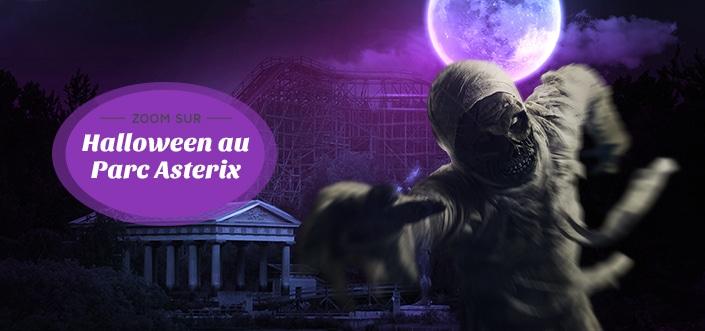 Halloween au parc Astérix