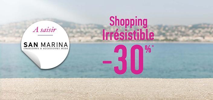 Shopping irrésistible chez San Marina 6