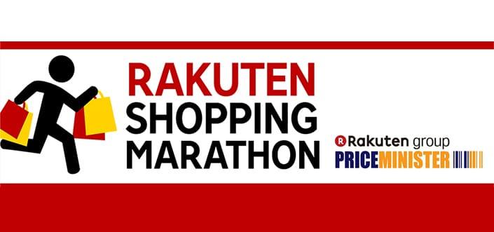 Rakuten shopping marathon