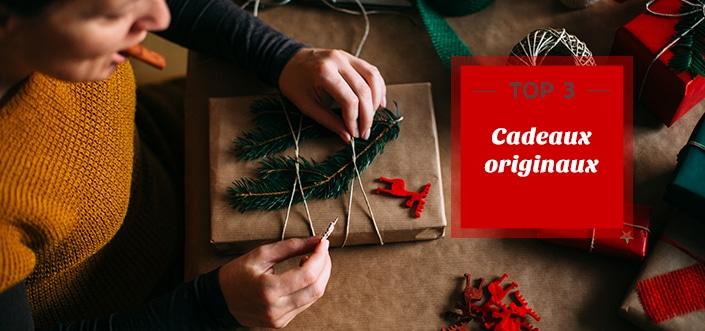 3 cadeaux auxquels vous n'auriez pas pensé ! 1