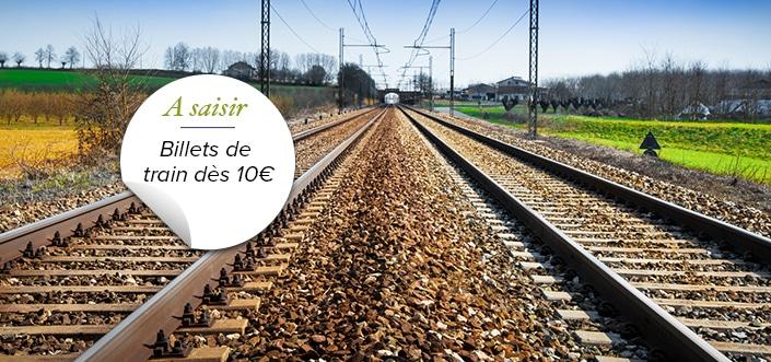 billets de train à moins de 10€