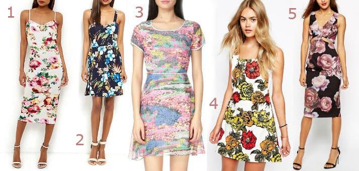 robes été à fleurs