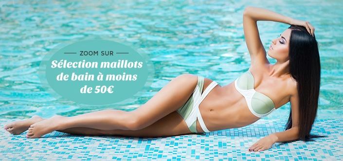 Sélection de maillot de bain à moins de 50€ 1