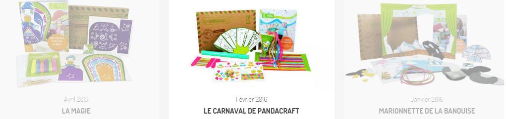 les kits Pandacraft